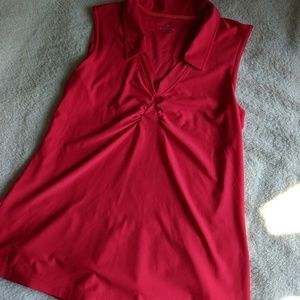 Athleta Wick-It Golf Tennis Tank Top Polo